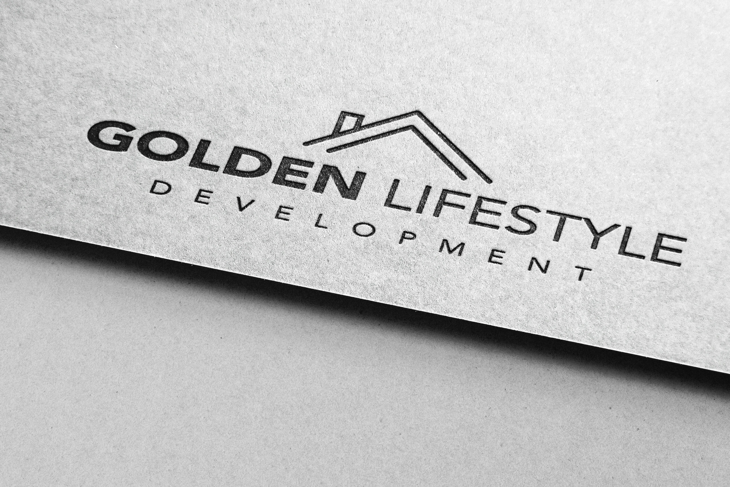 Golden Lifestyle Development Logo Design