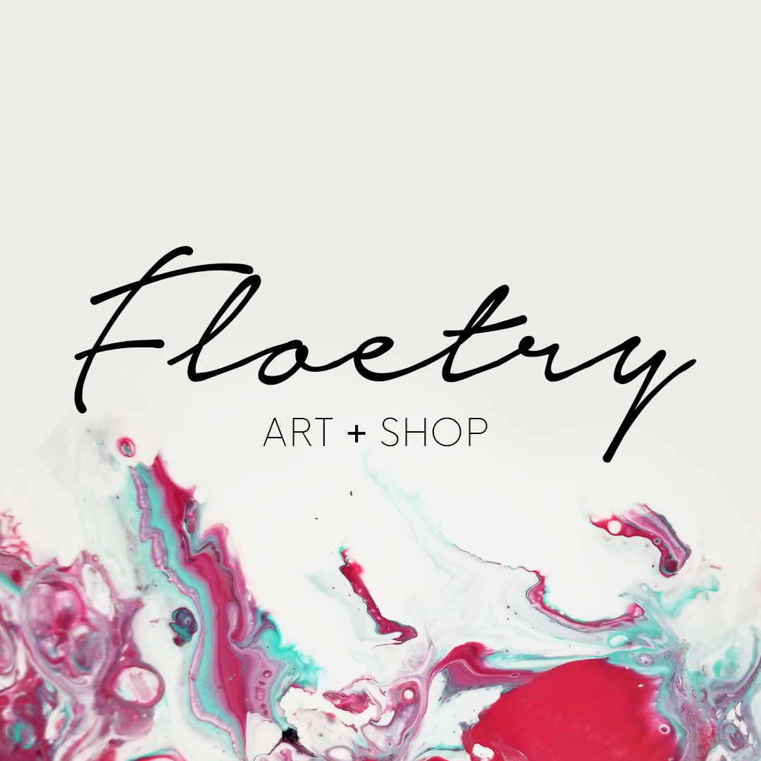 Floetry Art Shop Logo Design