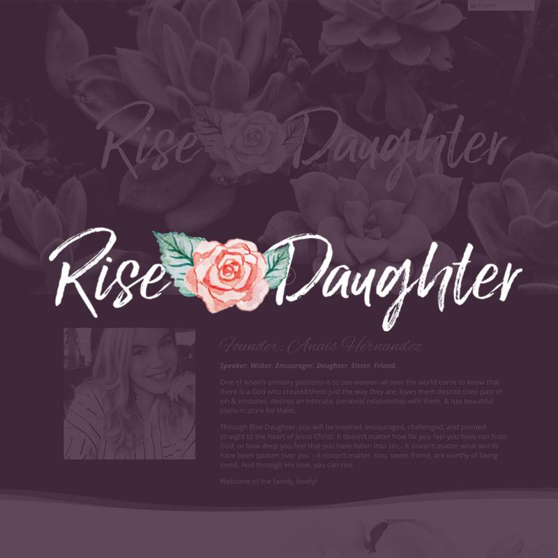 Web Design - Rise Daughter