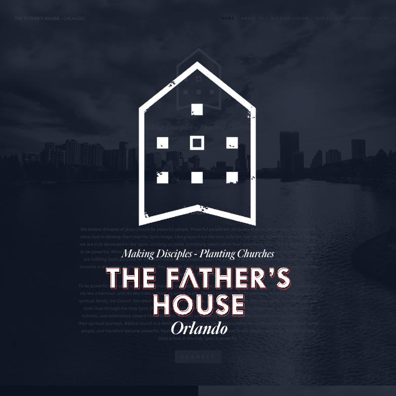 Web Design - The Father's House Orlando